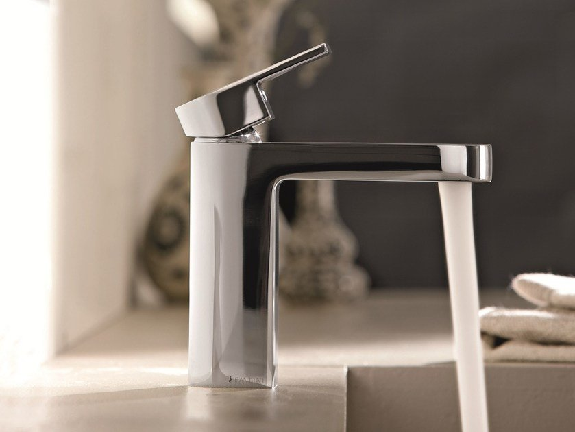 Countertop 1 hole washbasin mixer MARE | Chrome-plated washbasin mixer by Fantini Rubinetti