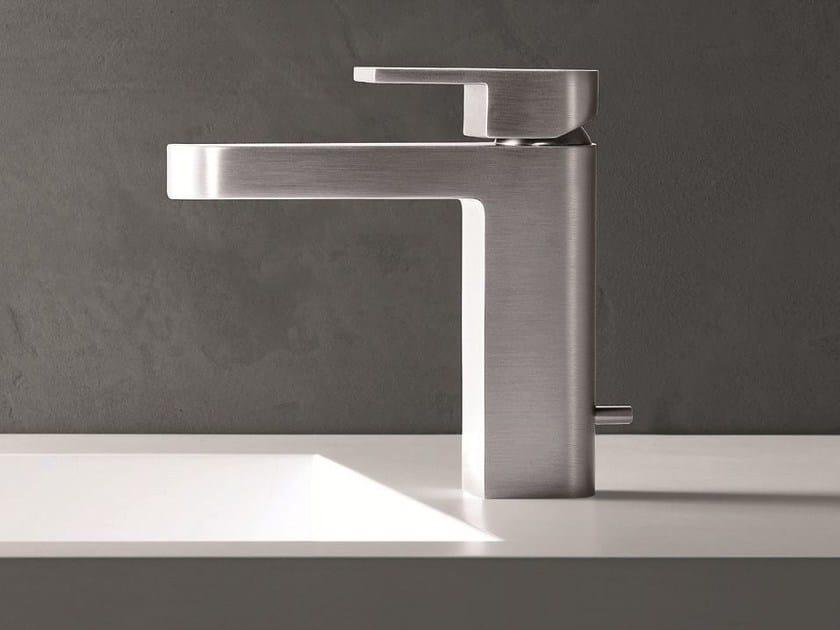 Countertop 1 hole washbasin mixer MARE | Washbasin mixer with brushed finishing by Fantini Rubinetti