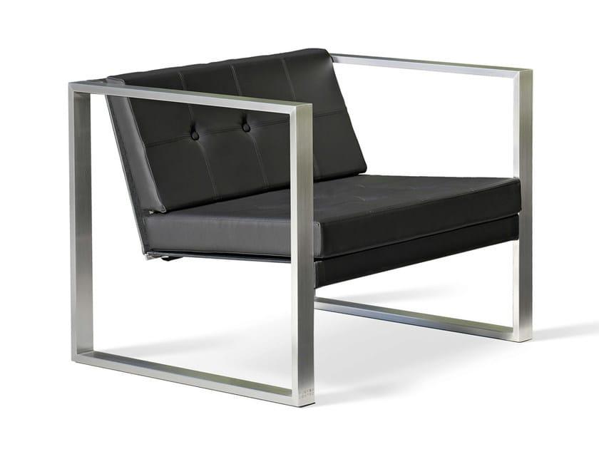 Garden Batyline® easy chair POLTRONA LOUNGE by FueraDentro