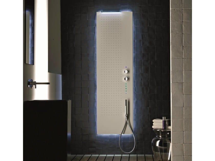 Mare colonna doccia multifunzione by fantini rubinetti design