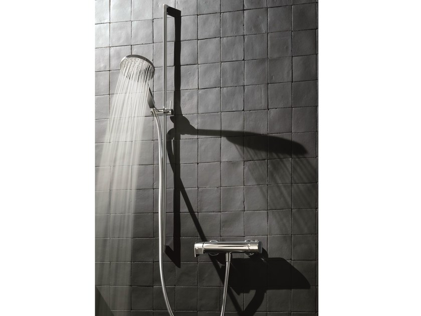 Thermostatic shower mixer with hand shower MARE | Thermostatic shower mixer with hand shower by Fantini Rubinetti