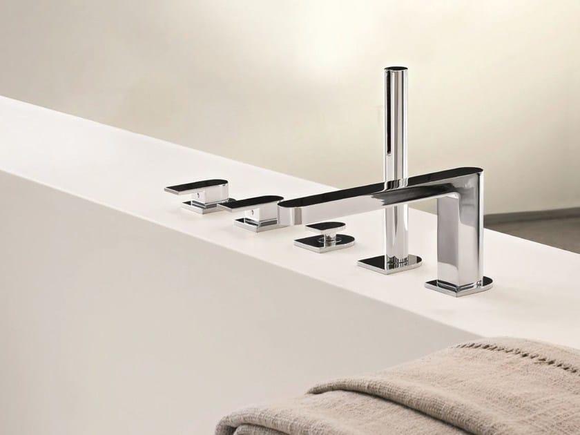 MARE | 5 hole bathtub set By Fantini Rubinetti design Franco Sargiani