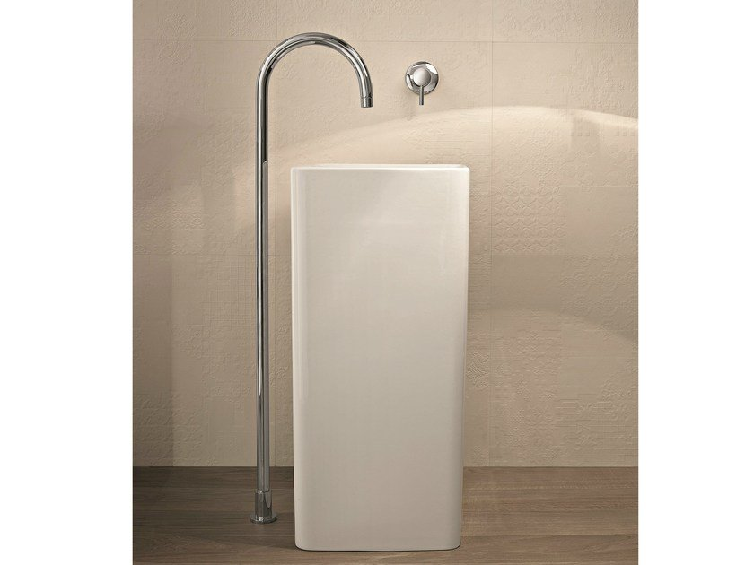 Floor standing washbasin mixer NOSTROMO - D063A/E362B - 9561 by Fantini Rubinetti