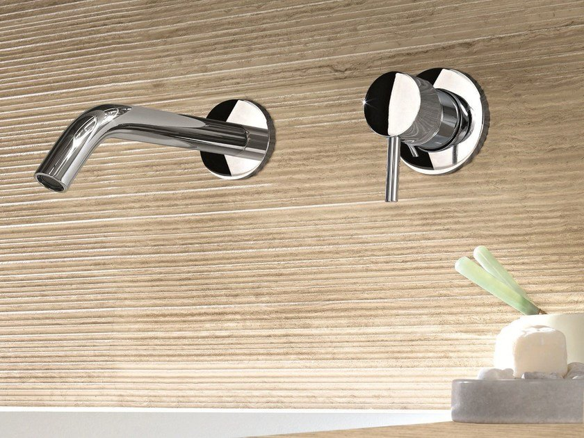 2 hole wall-mounted washbasin mixer CAFÈ | Wall-mounted washbasin mixer by Fantini Rubinetti