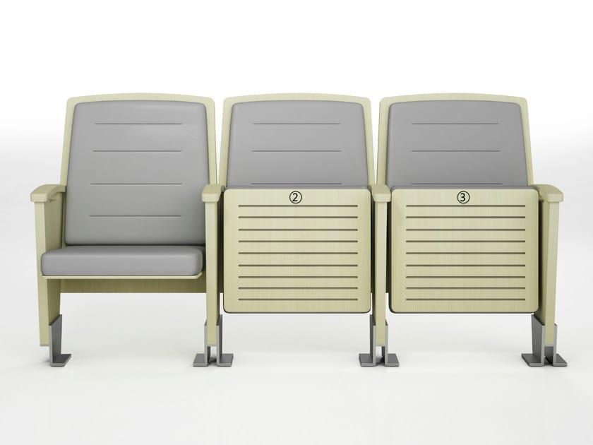 Auditorium seats DEMETRA by ESTEL GROUP