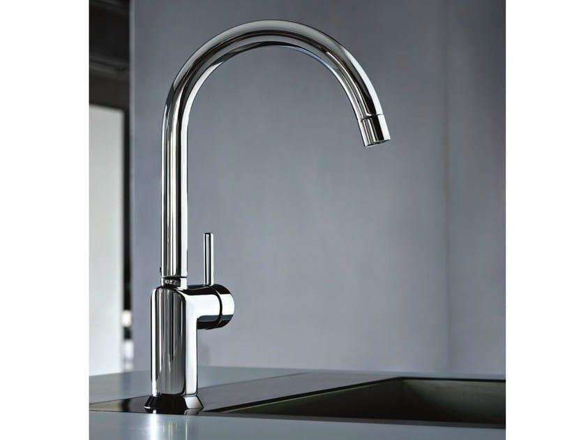 Countertop kitchen mixer tap with swivel spout CAFÈ | Kitchen mixer tap with swivel spout by Fantini Rubinetti