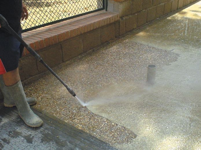 Retarder for architectural pavings RETARDER P by COPLAN