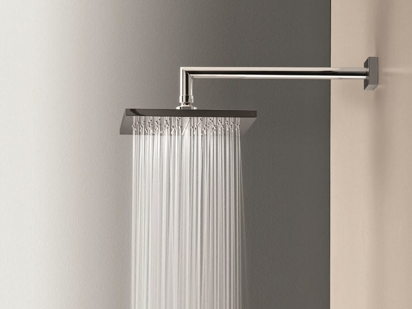 Wall-mounted overhead shower with arm Overhead shower with arm by Fantini Rubinetti