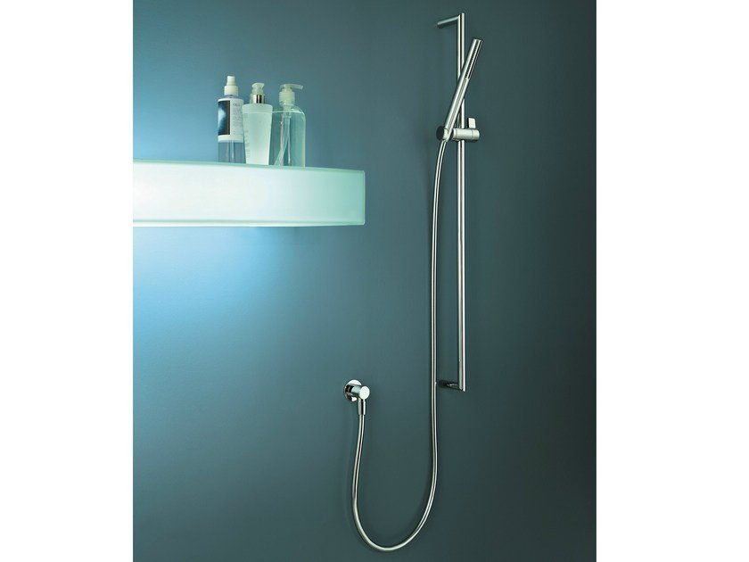 Shower wallbar with hand shower YOUNG by Fantini Rubinetti