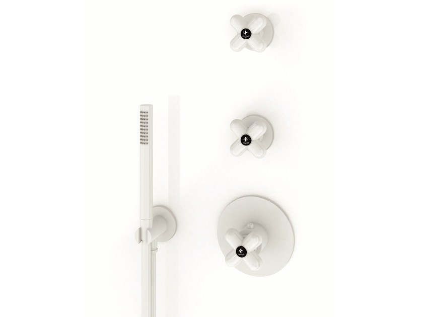3 hole shower tap I BALOCCHI | Shower tap by Fantini Rubinetti