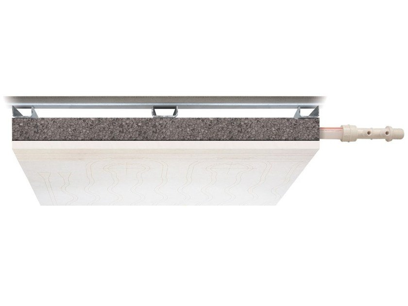 Plasterboard Radiant ceiling panel LEONARDO CEILING by Eurotherm