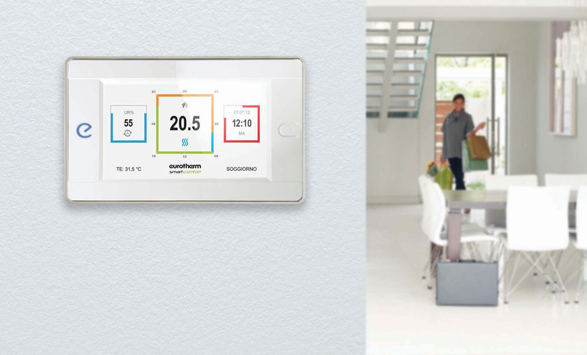 Heat regulation and hygrometric control Smartcomfort by Eurotherm