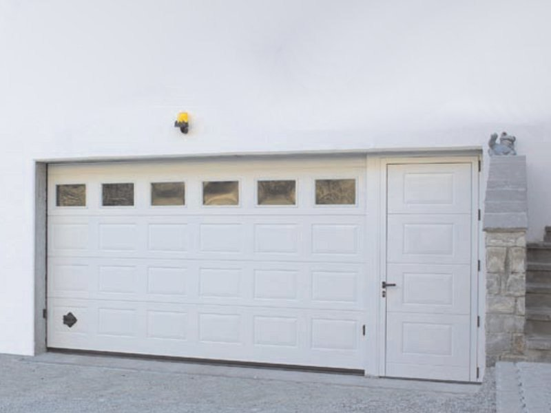 Sectional garage door IRIS by Breda