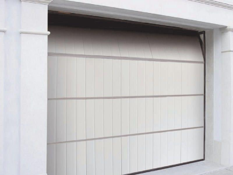 Aluminium garage door PEGASO DOGA by Breda