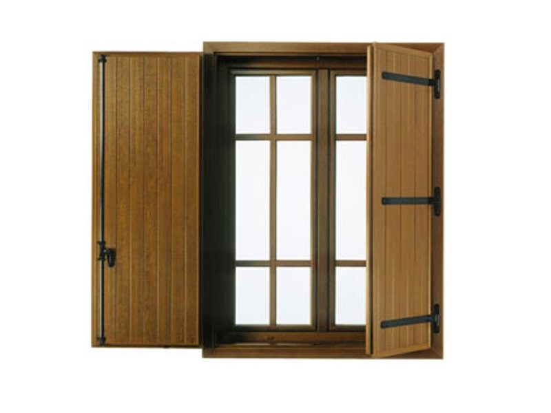 Shutter and blind Flat panel shutters by FINSTRAL