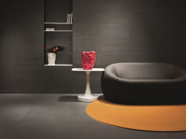 Wall/floor tiles with textile effect MAKO' by LEA CERAMICHE