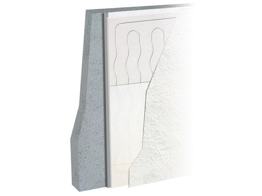 Plasterboard Radiant wall panel LEONARDO WALL by Eurotherm