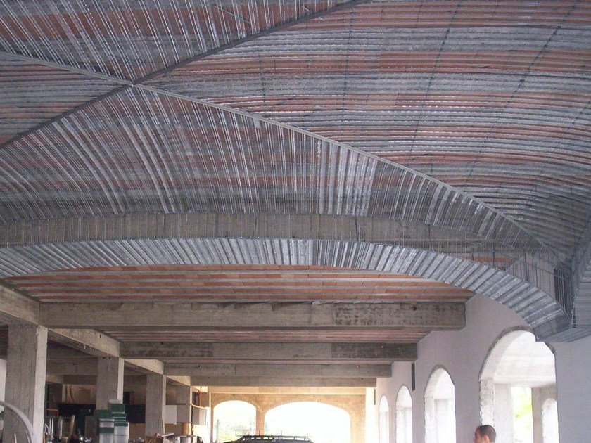 Mesh and reinforcement for plaster and skimming NERVOMETAL® by NUOVA FERRACCIAIO