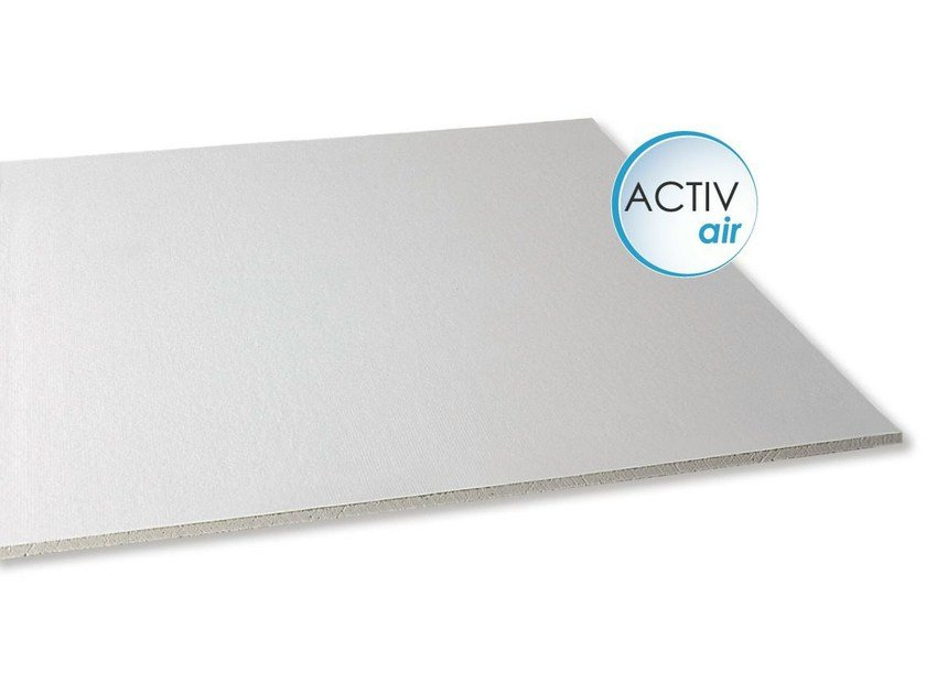 Gypsum ceiling tiles GyQuadro® Activ'Air® by Saint-Gobain Gyproc