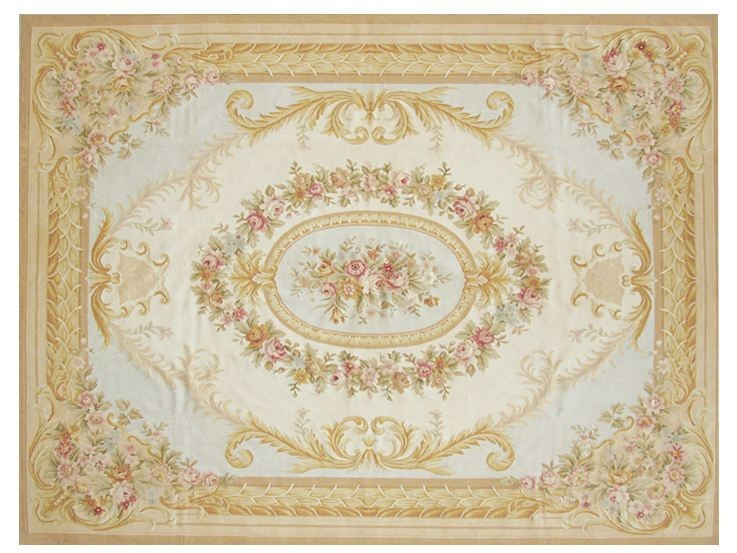 Rectangular wool rug SAINT CLAIR by EDITION BOUGAINVILLE