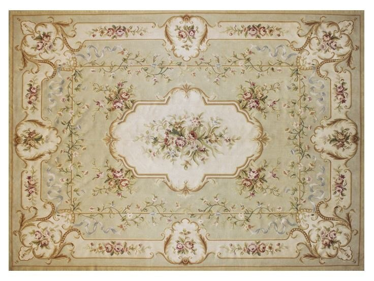 Rectangular wool rug SULLY by EDITION BOUGAINVILLE