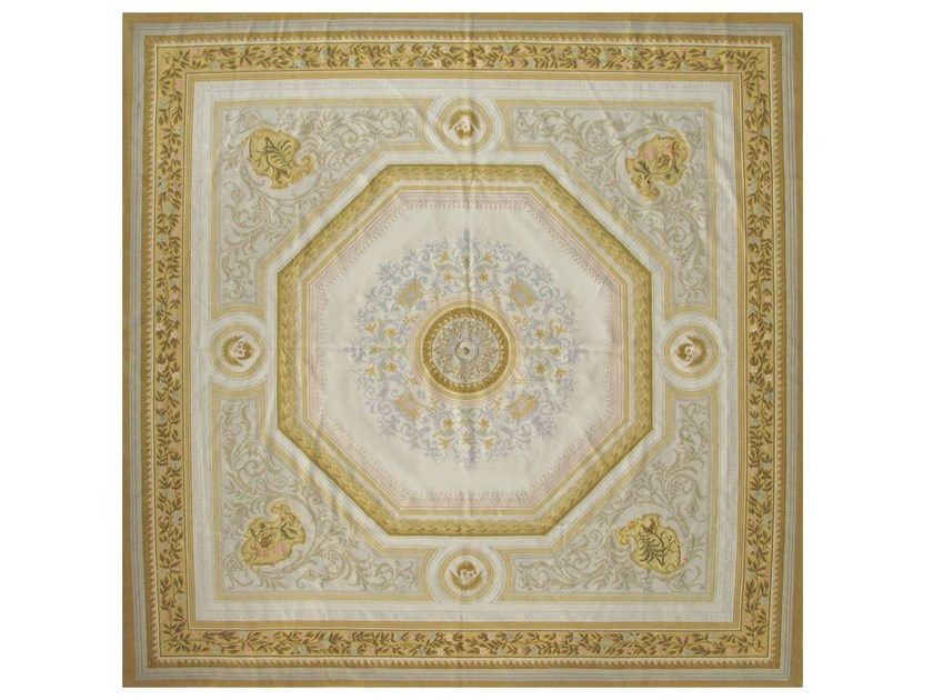 Square wool rug TRIGANCE by EDITION BOUGAINVILLE