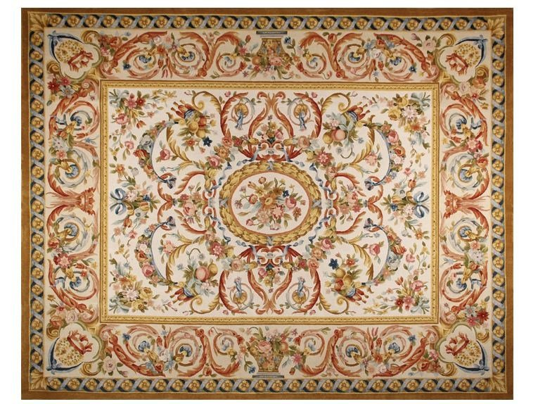 Rectangular wool rug VOUGEOT by EDITION BOUGAINVILLE