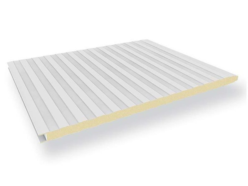 Insulated metal panel for facade BOX by ITALPANNELLI