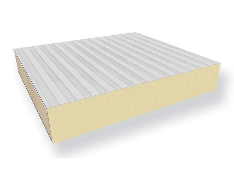 Insulated metal panel for facade JUMBO GSQ by ITALPANNELLI