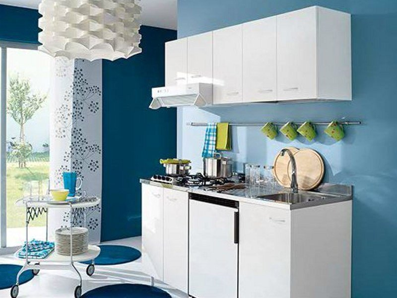 Melamine-faced chipboard kitchen unit Kitchen by Gruppo Geromin