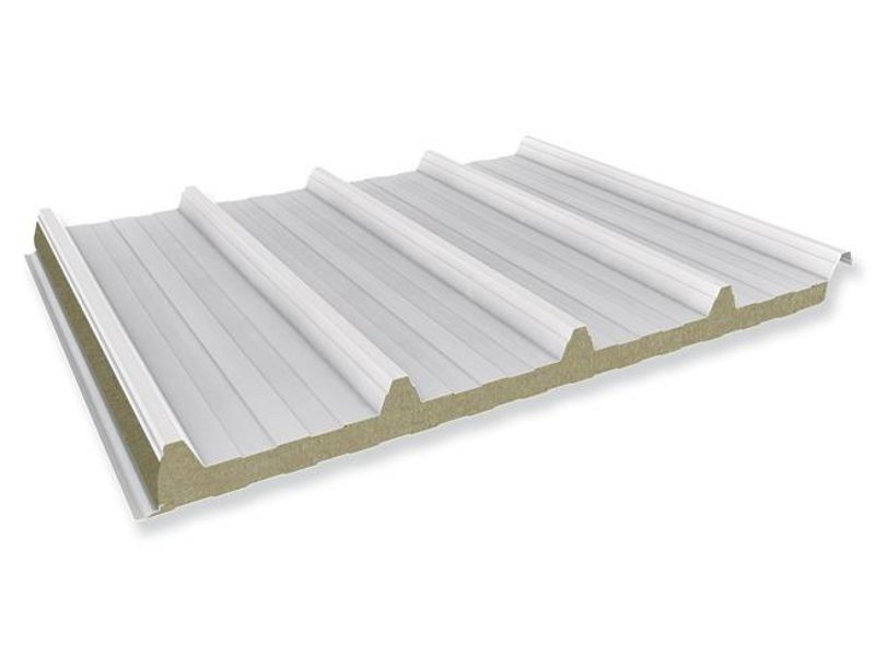 Insulated metal panel for roof PENTA W by ITALPANNELLI