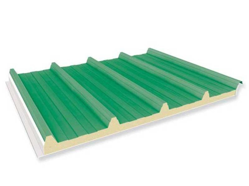 Insulated metal panel for roof AGROPANEL® by ITALPANNELLI