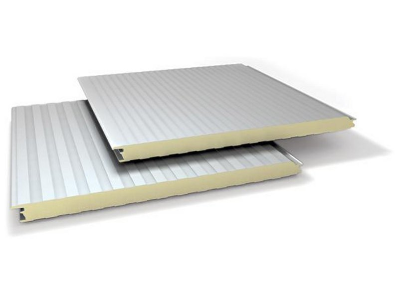 Insulated metal panel for facade SUPER TOP PIANO by ITALPANNELLI