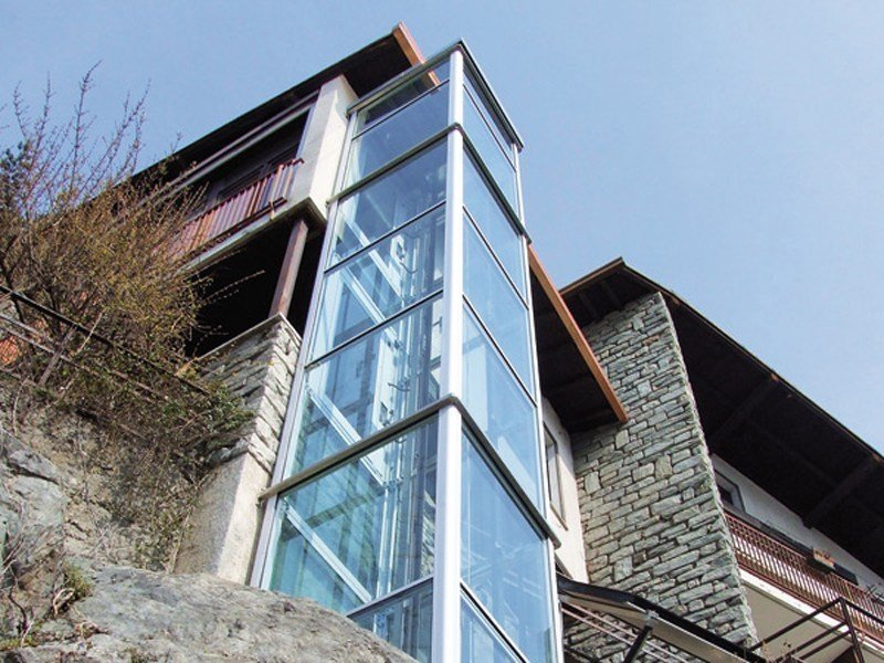 Outdoor house lift DOMUSLIFT | Outdoor house lift by IGV GROUP