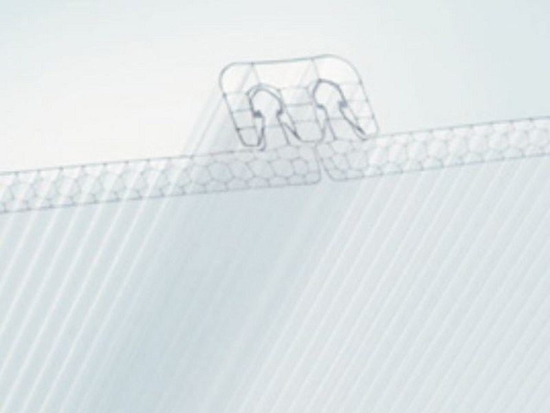 Polycarbonate sheet SUN CLICK by AKRAPLAST  SISTEMI
