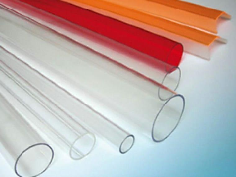 Polycarbonate sheet AKRATUBE by AKRAPLAST  SISTEMI