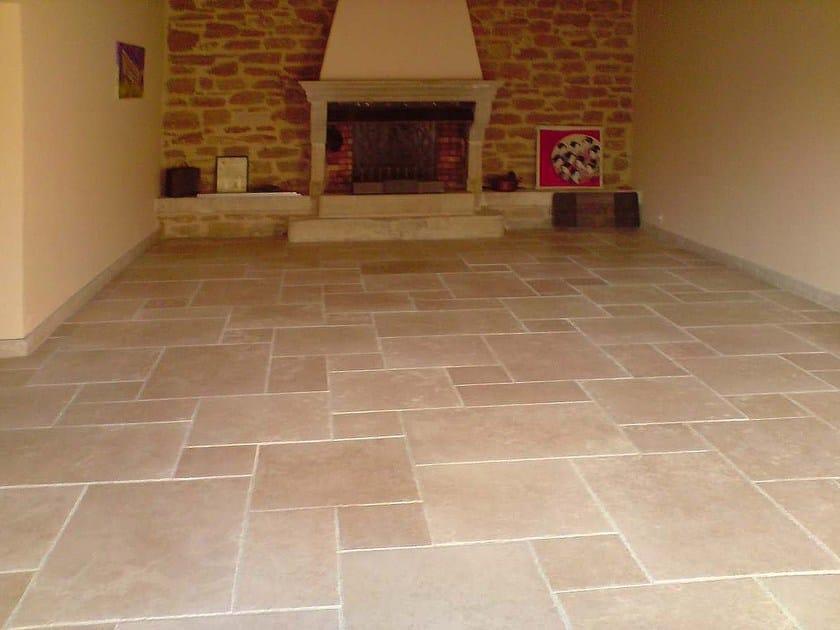Pavimento In Pietra Naturale Per Interni : Pavimento in pietra calcarea per interni ed esterni aurelia