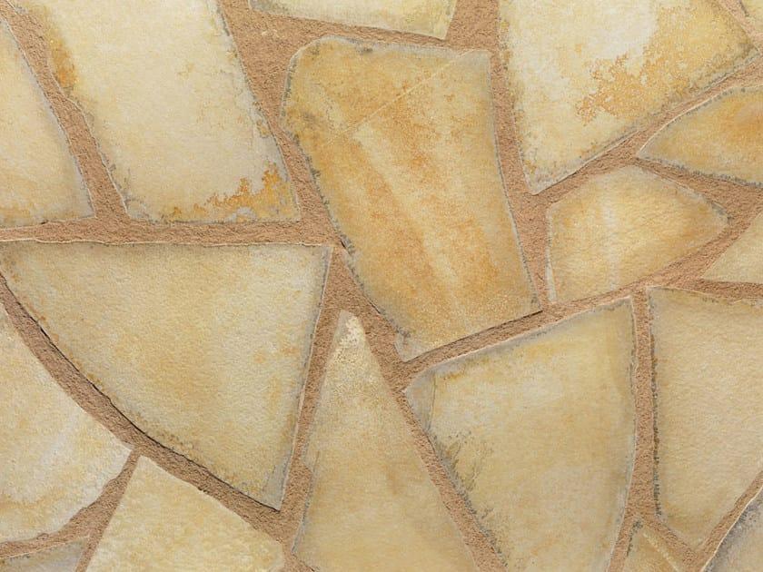 Indoor/outdoor natural stone flooring JOLLY GIALLA | Natural stone flooring by B&B Rivestimenti Naturali