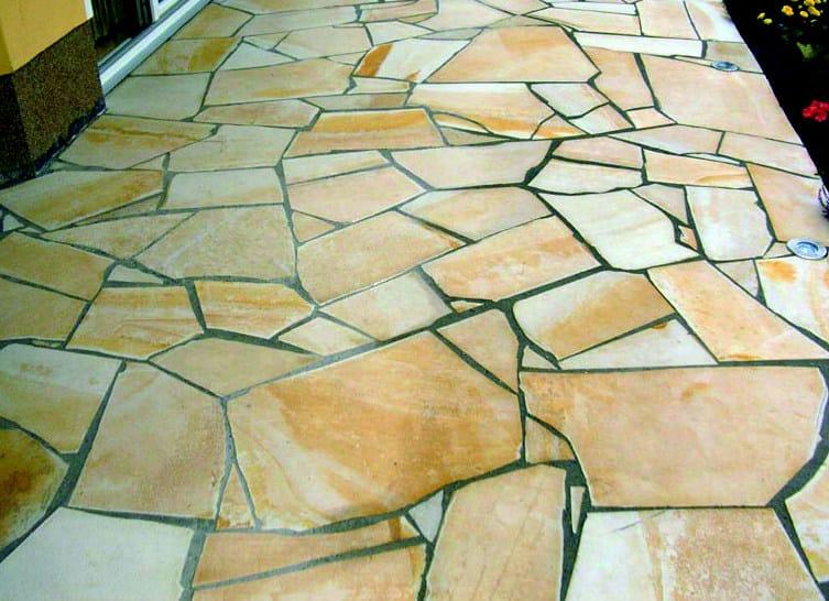 Pavimento In Pietra Naturale Per Interni : Pavimento in pietra naturale per interni ed esterni jolly gialla