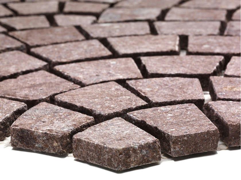 Porphyry outdoor floor tiles PORFIDO R1   Outdoor floor tiles by B&B Rivestimenti Naturali