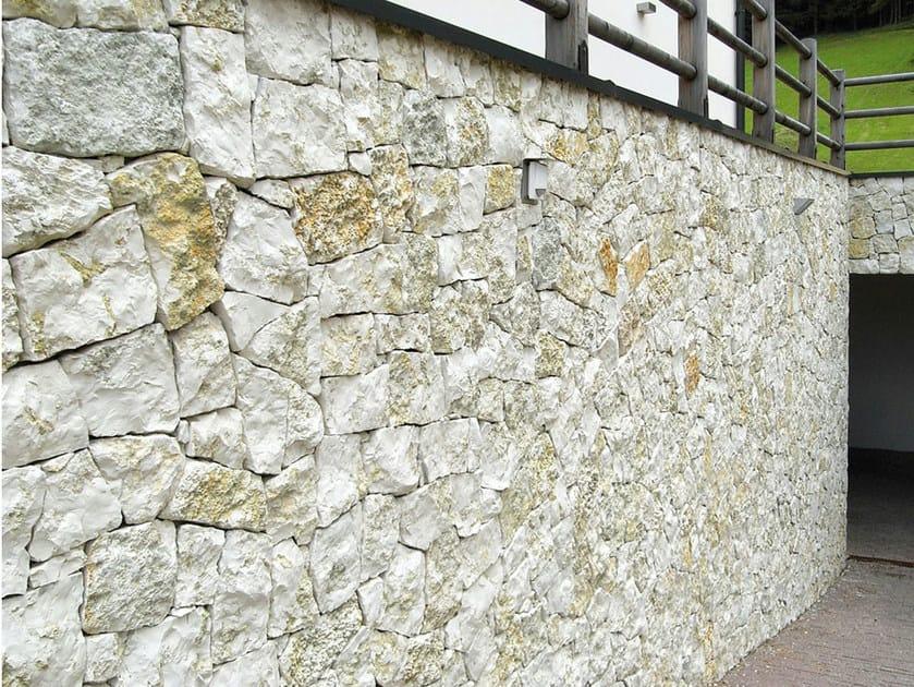 Pietra Verde Rivestimento : Rivestimento di facciata in pietra naturale bianco verde