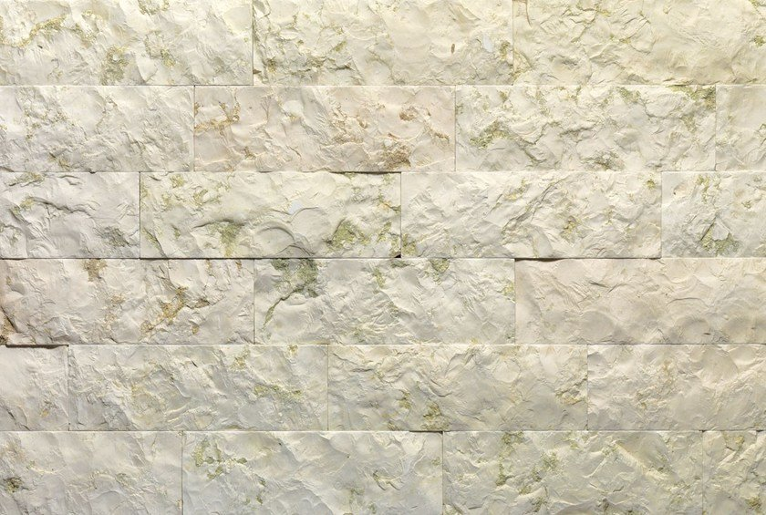 Natural stone wall tiles BIANCO VERDE TR | Natural stone wall tiles by B&B Rivestimenti Naturali