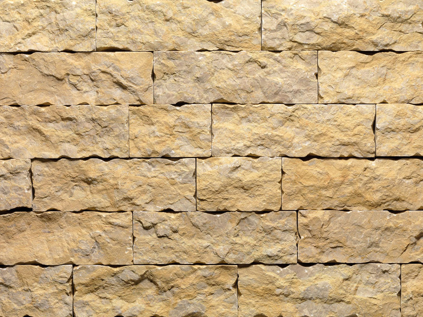 Natural stone wall tiles GIALLO REALE LM | Natural stone wall tiles by B&B Rivestimenti Naturali