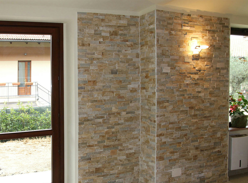 Scaglia revestimiento de pared de piedra natural by b b - Fachada piedra natural ...