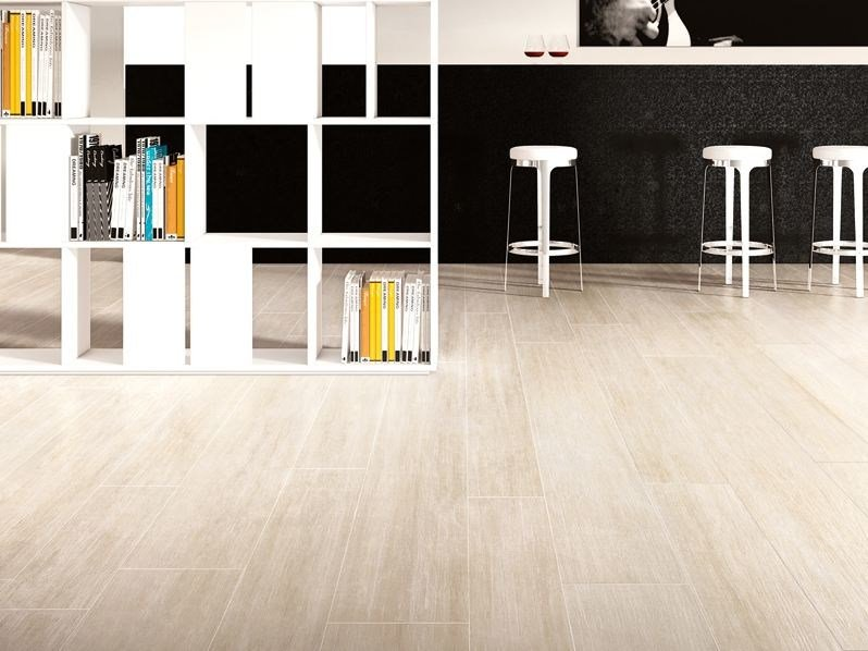 Porcelain stoneware wall/floor tiles with wood effect LEGNI HIGH-TECH | Rovere Sabbia by ARIOSTEA