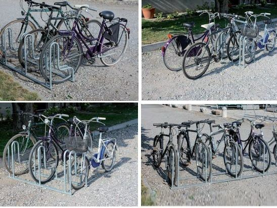 Bicycle rack Bicycle rack by SELVOLINA