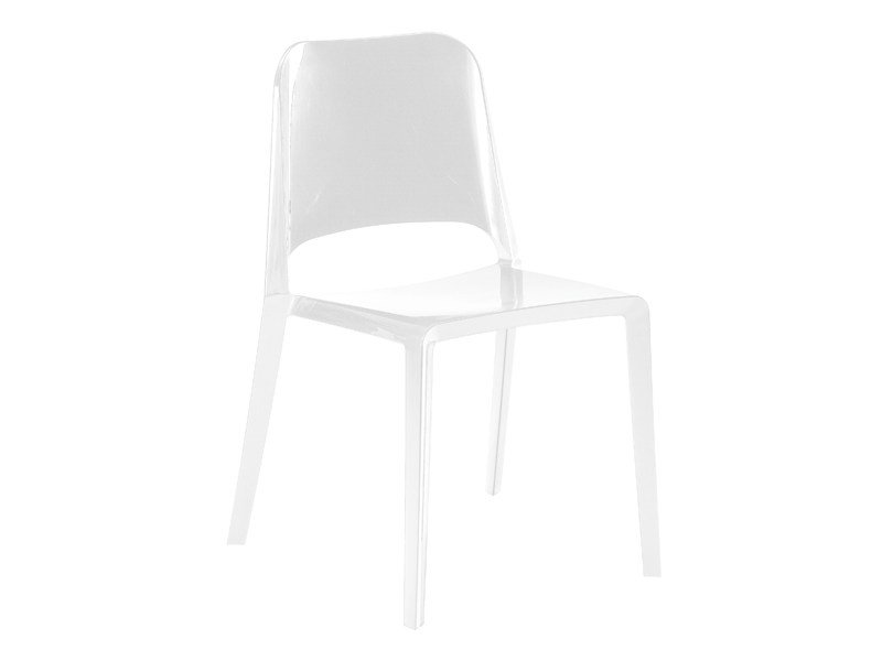 Stackable polyamide chair KATE 2050 by Zanotta