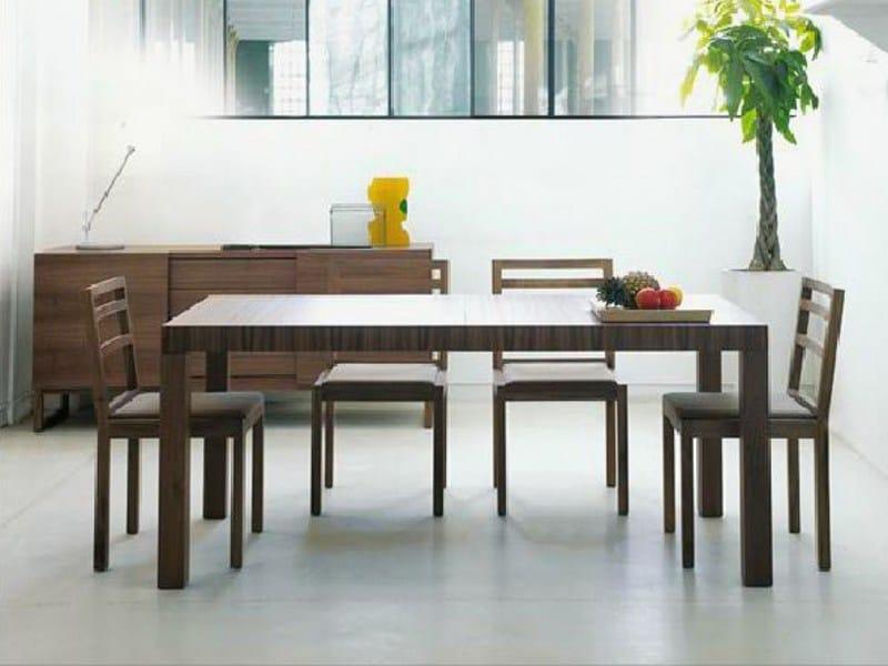 Extending dining table PARENTESI by Linfa Design