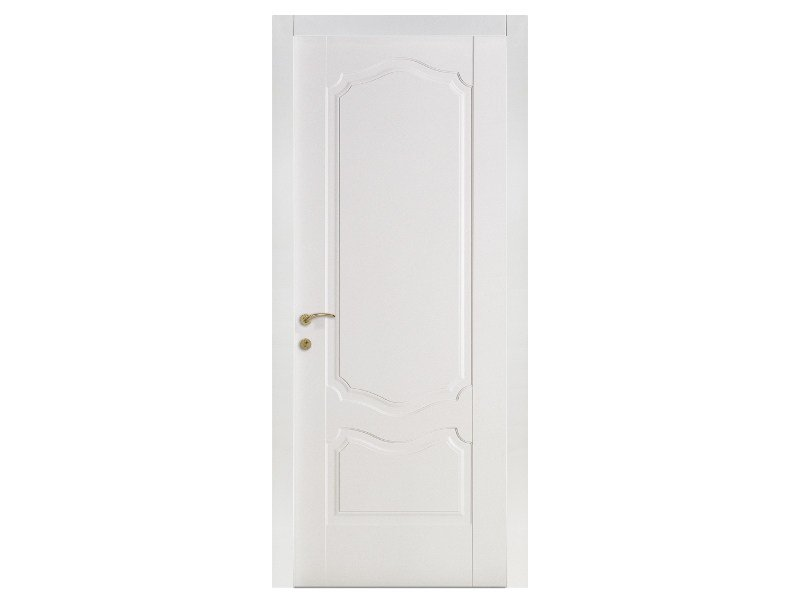 Hinged lacquered door VENEZIA PANTOGRAFATE | Wooden door by Bertolotto Porte