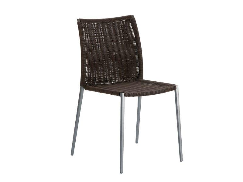 Stackable garden chair TALIA 2079 by Zanotta